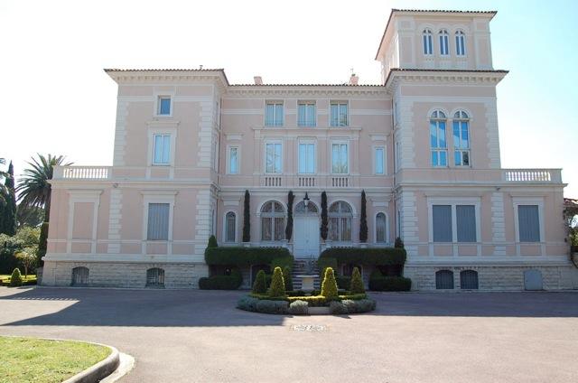 villa belle epoque pour production photo nice