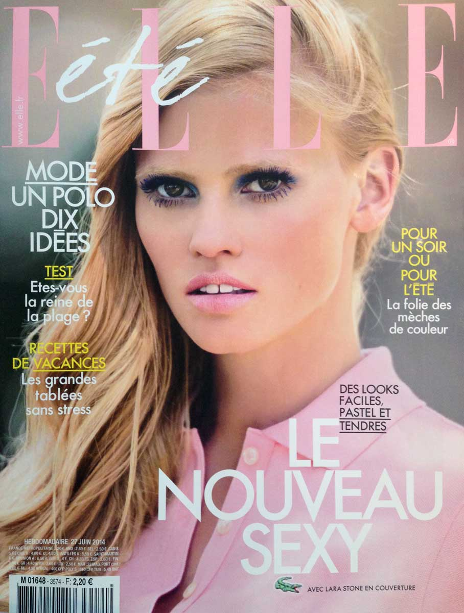 photographic production in Cannes with Lara Stone