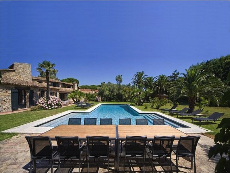 location villa contemporaine pour production photos dans le var