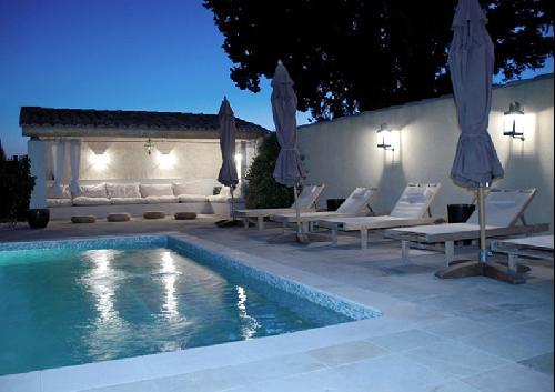 piscine pour production photographique luberon