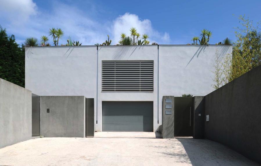 villa pour production photographique