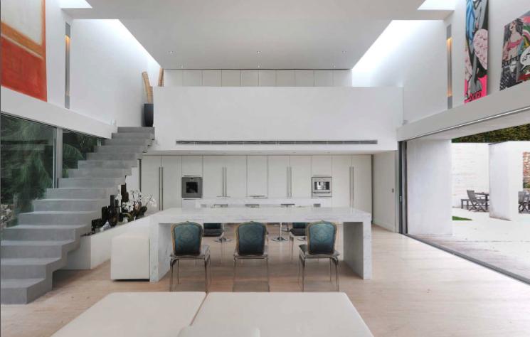 salon de villa contemporaine pr