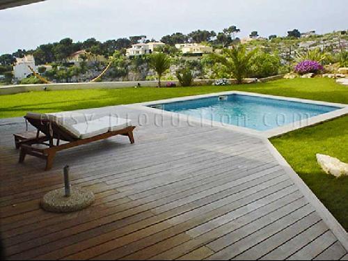 Production photo et location de villa contemporaine à Marseille