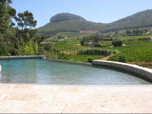 piscine avec vue pour production photo et tournage marseille